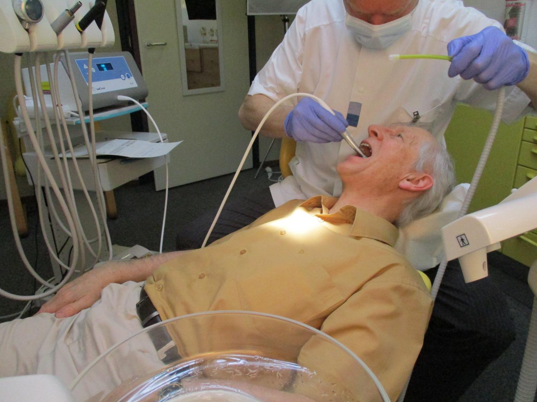 Healozon behandeling premolaar 3.5